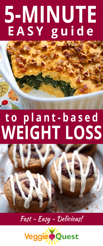Easy 5-Minute Guide to Plant Based Weight Loss